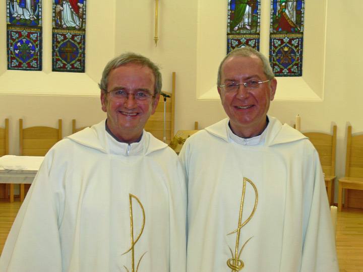 ... of Monsignor Peter Magee as Canon in Saint Margaret's Cathedral, Ayr